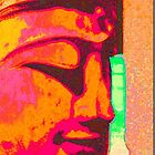 pink buddha consciousness by KarenColville