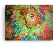 psychedelic cymbal Metal Print