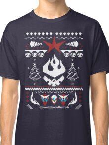 An Ugly Gurren Lagann Christmas Sweater  Classic T-Shirt
