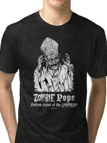Zombie Pope Tri-blend T-Shirt