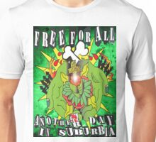 Free For All (another day in the burbs) Unisex T-Shirt