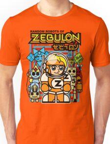 Random Robots of ZEBULON !  ( Vector Group ) Unisex T-Shirt