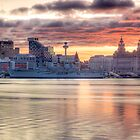 Liverpool Sunrise Panoramic by William Lee