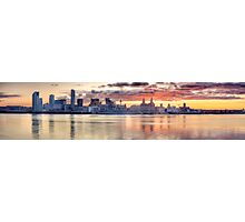 Liverpool Sunrise Panoramic Photographic Print
