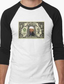 B'Lack Osama Cash Men's Baseball ¾ T-Shirt