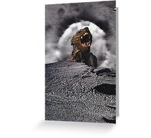 Werewolf on the Moon Greeting Card