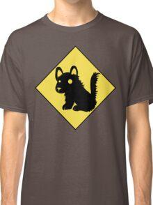 Beware Of Puppy Stare Classic T-Shirt