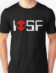 I Love Science Fiction (retro 2) T-Shirt