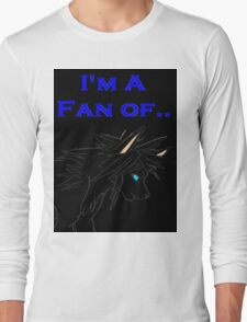 Wolf Prince Audiobook - I'm A Fan Of... (Black) Long Sleeve T-Shirt