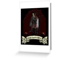All Magik Comes With A Price! Greeting Card