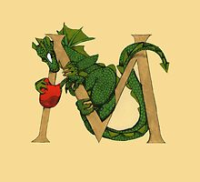 "Oscar and the Roses ""M"" (Illustrated Alphabet) by Donna Huntriss"
