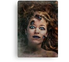 Teenagers can be eerie Canvas Print