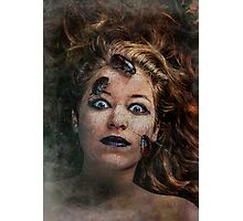 Teenagers can be eerie Photographic Print