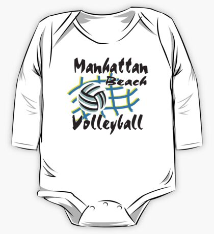 Manhattan Beach California Volleyball One Piece - Long Sleeve