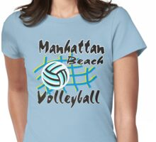 Manhattan Beach California Volleyball Womens Fitted T-Shirt