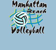 Manhattan Beach California Volleyball Womens Fitted T-Shirt