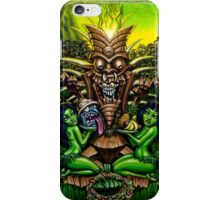 Zombie Tiki by BigToe iPhone Case/Skin