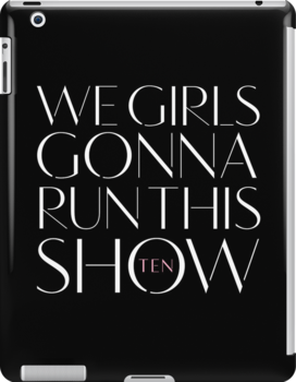 Girls Aloud - We Girls Gonna Run This Show- White lyrics by Hrern1313