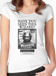 Have You Seen This Wizard? Women's Fitted Scoop T-Shirt