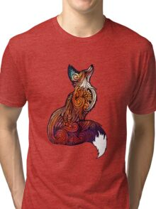 Space Fox Tri-blend T-Shirt