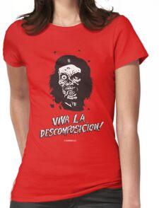 VIVA LA DESCOMPOSICION! Womens Fitted T-Shirt
