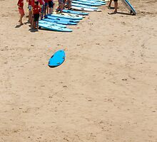 Surfing lesson by Antoine de Paauw
