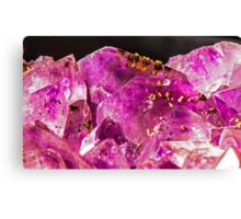 Geode Quartz Crystal Canvas Print