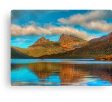 Cradle in Fagus # 2 - Cradle Mountain , Tasmania Australia - The HDR Experience Canvas Print