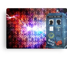 Consulting Time Lord Metal Print