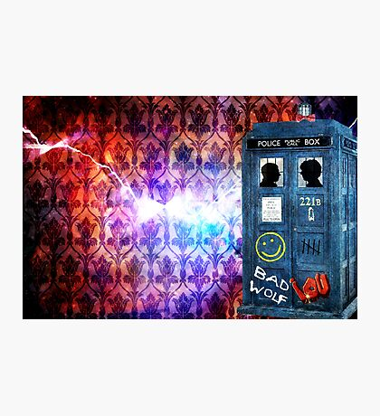 Consulting Time Lord Photographic Print