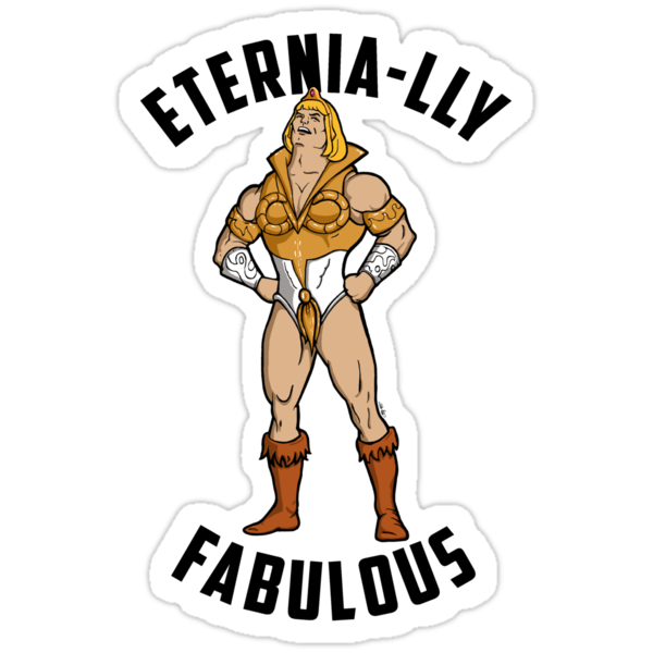 SHE-MAN: Eternia-lly Fabulous by cubik