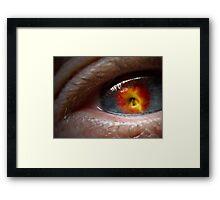 Apple of My Eye Framed Print