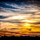 Burning Skies by EdwardKay