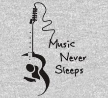 Music Never Sleeps by krice