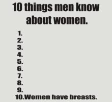 10 things men know about women by JAdesigns75
