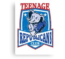 Teenage republicans Canvas Print