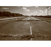 Abandoned Route 66 Photographic Print