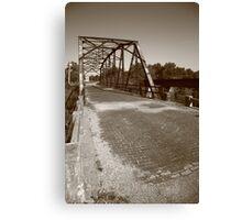 Route 66 - One Lane Bridge Canvas Print