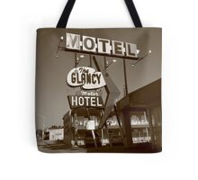 Route 66 - Glancy Motel Tote Bag