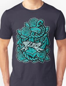 Anchor Roses 100+Views Unisex T-Shirt