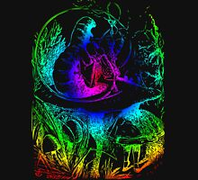 Psychadelic Mushroom Alice in Wonderland T-Shirt