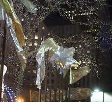 Rockefeller Center Night by out-art