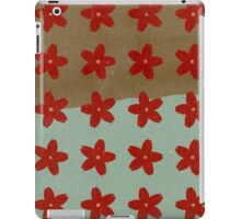 Red Hana iPad Case/Skin