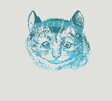 Cheshire Cat Striped Blue Unisex T-Shirt