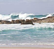 Waves  - Lights Beach, Denmark 9-2-13 by pennyswork