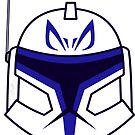 Chibi Captain Rex Helmet by humansrsuperior