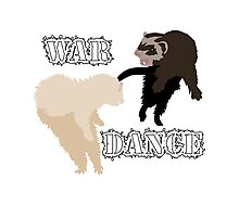 Ferrets War Dance Photographic Print