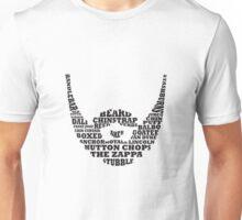 Beard Typography Unisex T-Shirt