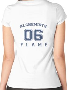 Flame Alchemist #06 Women's Fitted Scoop T-Shirt