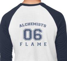 Flame Alchemist #06 Men's Baseball ¾ T-Shirt